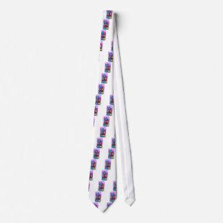 Bloques huecos coloridos corbatas personalizadas