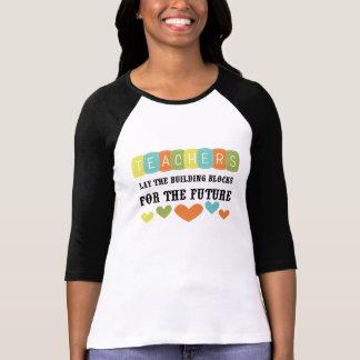 Bloques huecos para el futuro camisetas