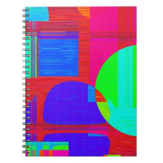 Bloques huecos reconstruidos spiral notebooks