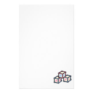 bloques personalized stationery