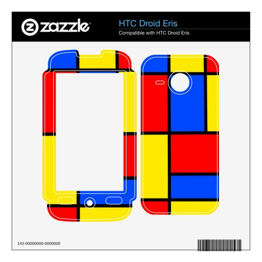 Bloques Skins Para HTC Droid Eris