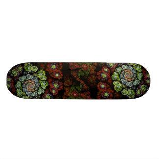 Blossom Abstract Fractal Art Skateboard Decks
