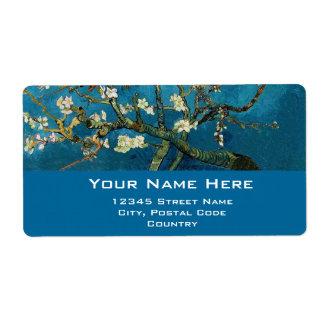 Blossom Almond Tree,  Vincent van Gogh. Custom Shipping Labels