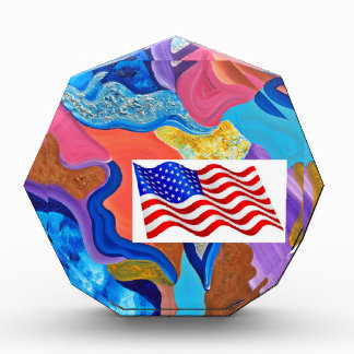 Blossom American Flag Award