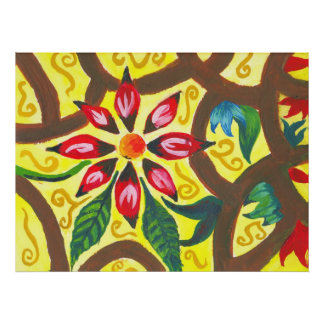 Blossom Among Brambles (1) Poster