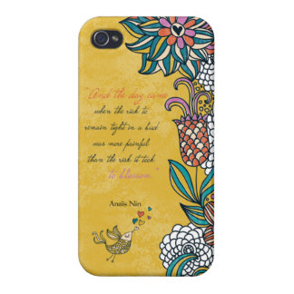 Blossom - Anais Nin iPhone 4/4S Covers