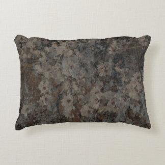 Blossom and Bark Decorative Pillow