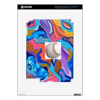Blossom Baseball iPad 3 Decals
