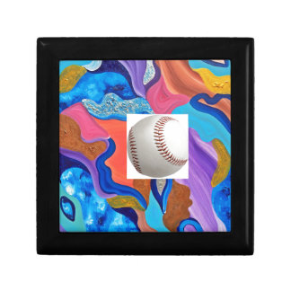 Blossom Baseball Jewelry Box