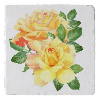 Blossom Beauties Trivet - Yellow Rose