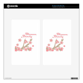 Blossom Beauty Decal For Kindle Fire