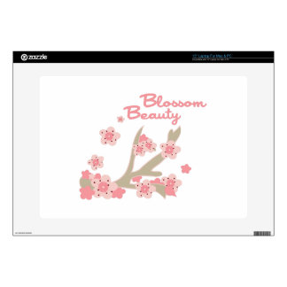 """Blossom Beauty 15"""" Laptop Decal"""