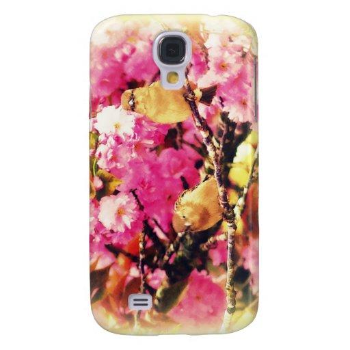 Blossom Birdies Galaxy S4 Cover