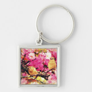 Blossom Birdies Keychain