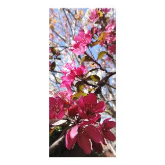 Blossom Bookmark Custom Rack Cards