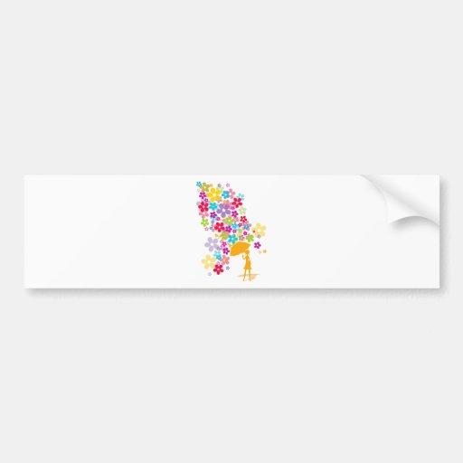 Blossom_Breeze Bumper Sticker
