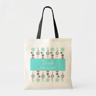 Blossom Bride Eco Bag zazzle_bag