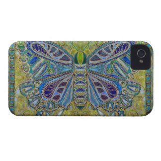 blossom butterfly painting BlackBerry Bold Case