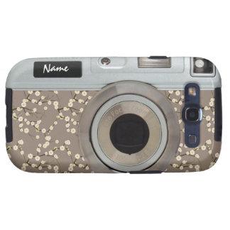 Blossom Camera Case Samsung Galaxy SIII Cover