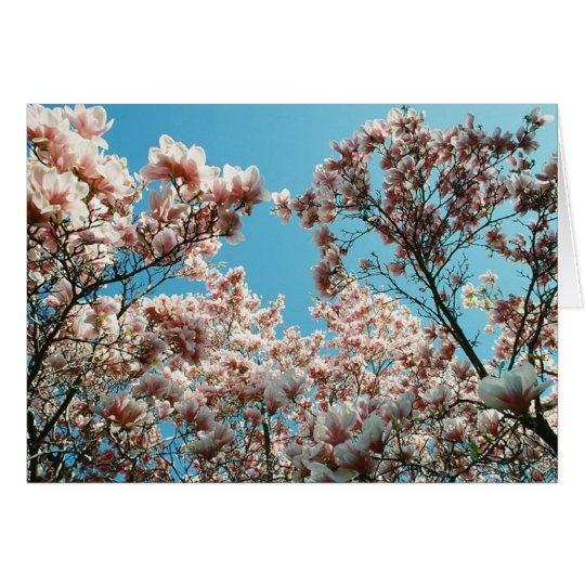 Blossom Cascade Card