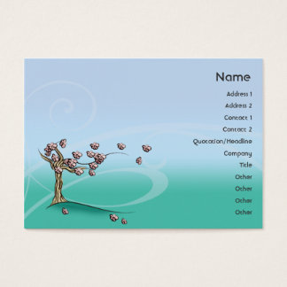 Blossom - Chubby Business Card