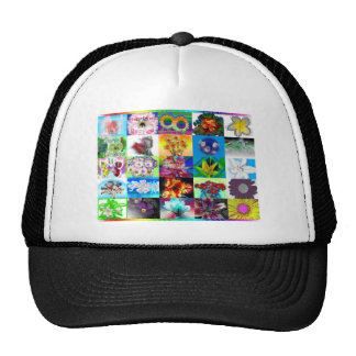 Blossom Collage Hat