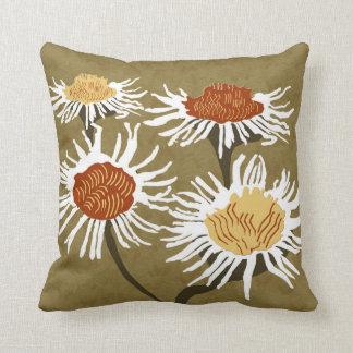 Blossom Decor#2a Modern Grade A cotton accent pil Throw Pillow