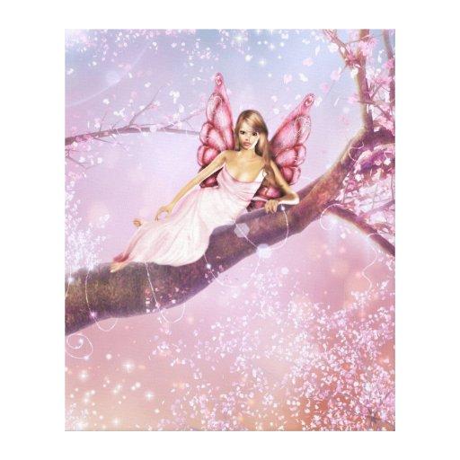 Blossom Fairy Canvas Print