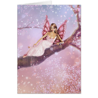 Blossom Fairy Greeting Card