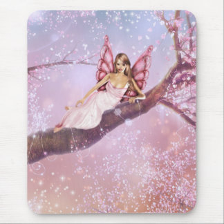 Blossom Fairy Mouse Pad