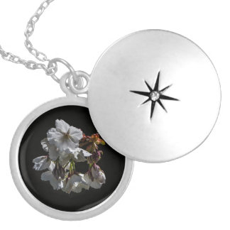Blossom Flowers Locket Necklace