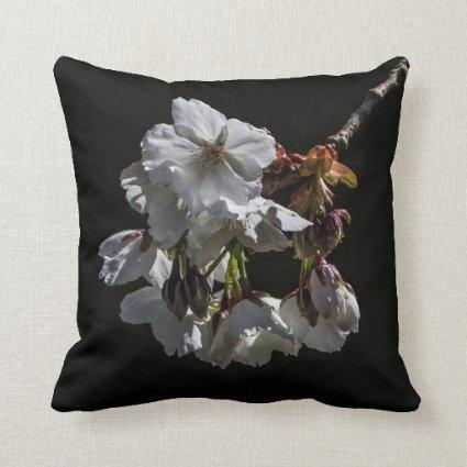 Blossom Flowers Pillow
