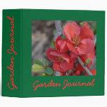 "Blossom Garden Journal - Avery 2"" Bin Vinyl Binders"