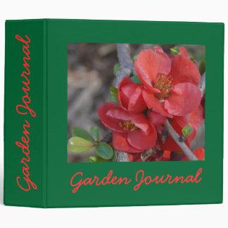 "Blossom Garden Journal - Avery 2"" Bin Binder"