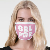 Blossom: Girl Power Face Mask