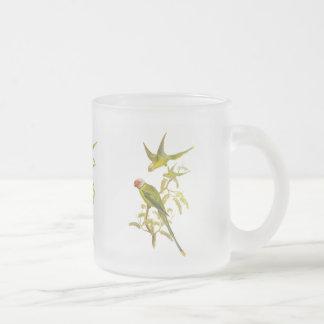 Blossom Headed Parakeet Coffee Mug