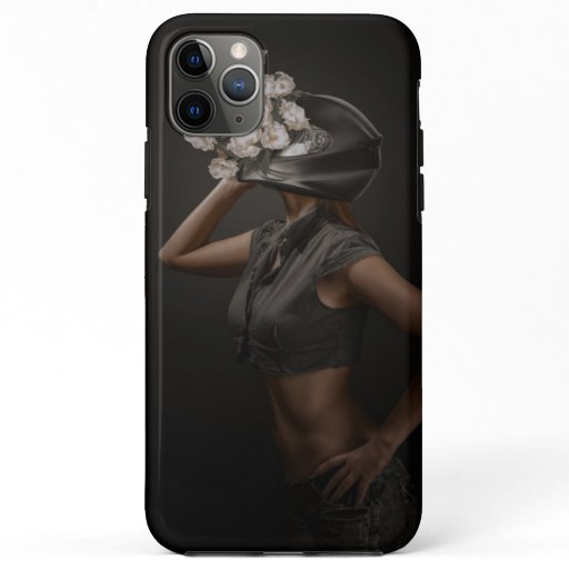 Blossom helmet. iPhone 11 pro max case