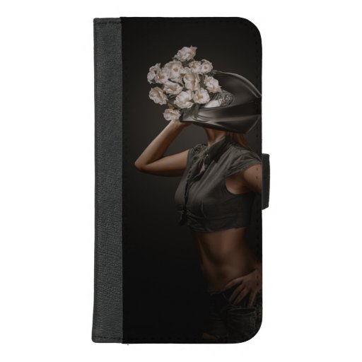 Blossom helmet. iPhone 8/7 plus wallet case