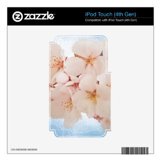 Blossom in Pantone Lapis Blue Skin For iPod Touch 4G