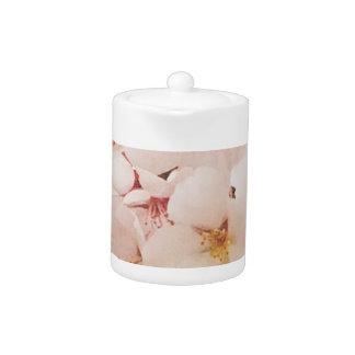 Blossom in Pantone Lapis Blue Teapot