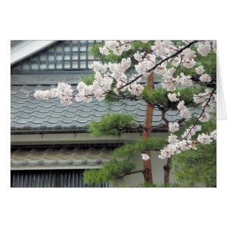 Blossom in the Rain Card
