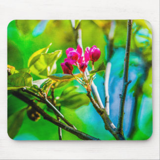 Blossom Inside Mouse Pad