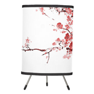 blossom lamp - red