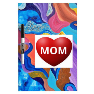 Blossom Love Mom Dry Erase Board