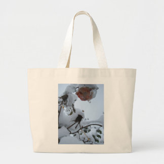 Blossom of Snow Large Tote Bag