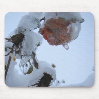 Blossom of Snow Mouse Pad