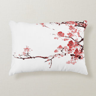 blossom pillow - red