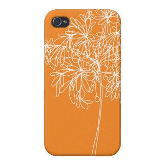 Blossom Pop Orange - iPhone Cover