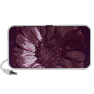 Blossom red portable speaker