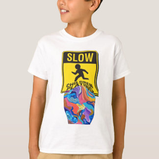 Blossom Slow Children Playing T-Shirt